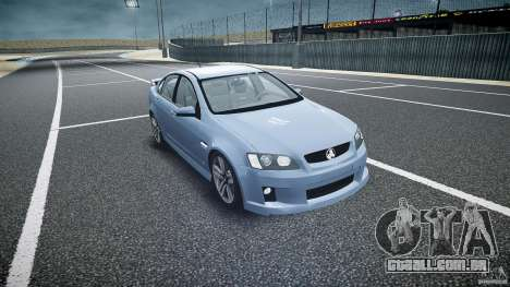 Holden Commodore SS (CIVIL) para GTA 4 vista de volta
