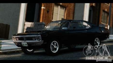 Dodge Demon 1971 para GTA 4 traseira esquerda vista