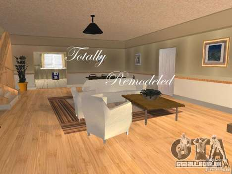 CJ Total House Remodel V 2.0 para GTA San Andreas