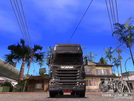 Scania R-440 para GTA San Andreas vista direita