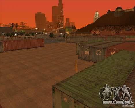 Portland para GTA San Andreas por diante tela