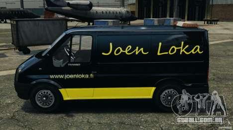 Ford Transit Joen Loka [ELS] para GTA 4 esquerda vista