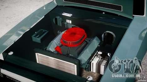 Dodge Charger RT 1971 v1.0 para GTA 4 vista superior