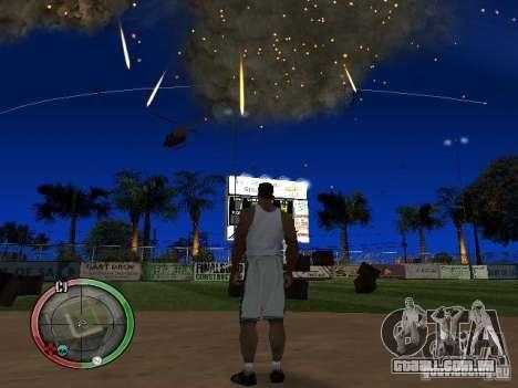 RAIN OF BOXES para GTA San Andreas por diante tela