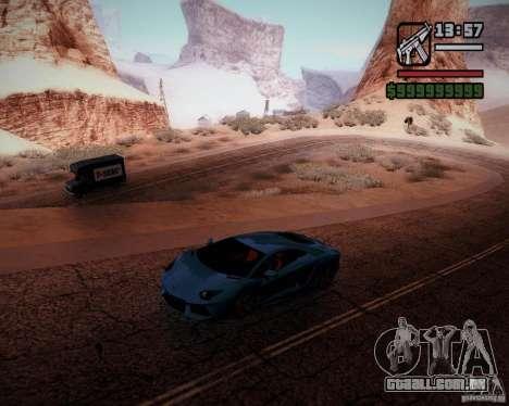 SA DirectX v1.2a para GTA San Andreas segunda tela