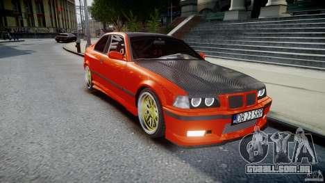BMW E36 Alpina B8 para GTA 4 vista interior