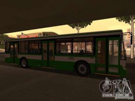 LIAZ 5292.20 para GTA San Andreas esquerda vista