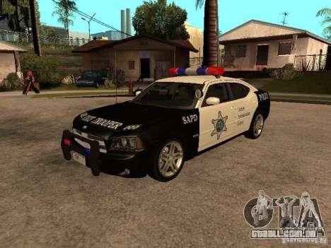Dodge Charger RT Police para GTA San Andreas