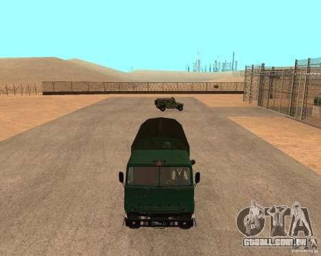 KAMAZ 4310 para GTA San Andreas vista direita