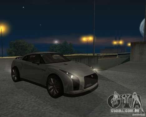 Nissan GT-R Pronto para GTA San Andreas