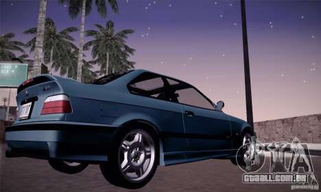 BMW E36 M3 Coupe - Stock para GTA San Andreas vista direita
