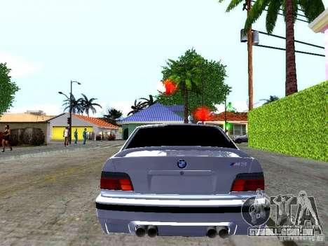 BMW M3 E36 Light Tuning para GTA San Andreas esquerda vista