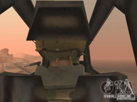 MI 28 Havok para GTA San Andreas interior