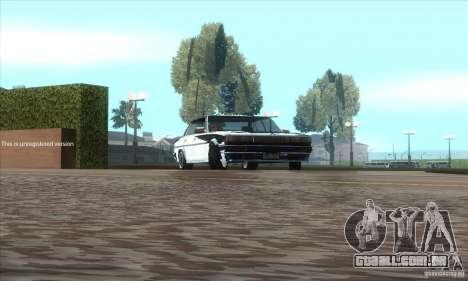 Toyota Cresta GX71 para GTA San Andreas vista traseira