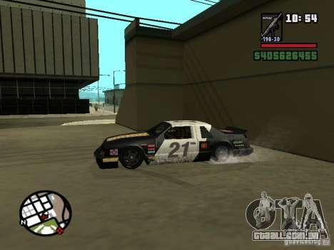 Transfender fix para GTA San Andreas terceira tela
