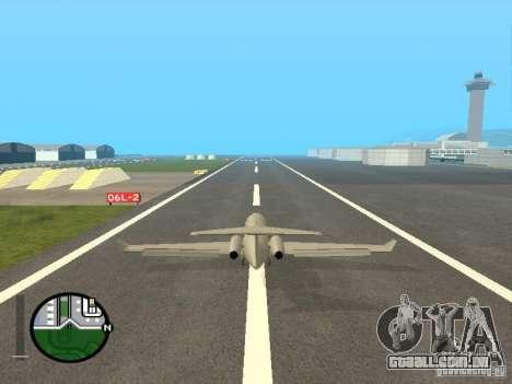 Piloto de emprego para GTA San Andreas por diante tela