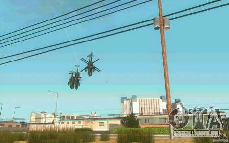6 estrelas para GTA San Andreas segunda tela