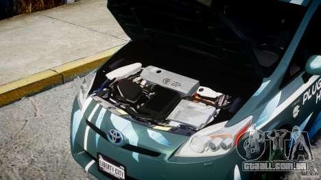 Toyota Prius 2011 PHEV Concept para GTA 4 vista direita