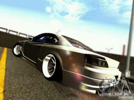Nissan 150SX Drift para GTA San Andreas vista direita