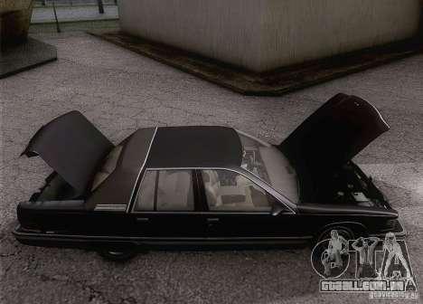 Buick Roadmaster 1996 para GTA San Andreas vista interior