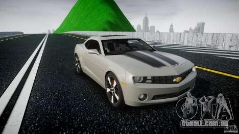 Chevrolet Camaro para GTA 4 vista de volta