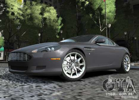 Aston Martin DB9 2008 v 1.0 para GTA 4 vista interior