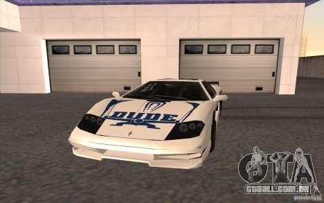O novo Turismo para GTA San Andreas