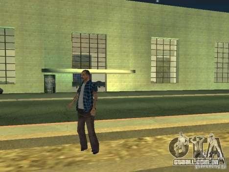 Espaço animado v 1.0 para GTA San Andreas décimo tela