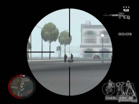 MASSKILL para GTA San Andreas sexta tela
