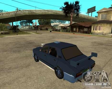 Dacia 1310 tuning para GTA San Andreas esquerda vista