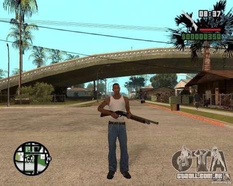 Chromegun HD para GTA San Andreas terceira tela