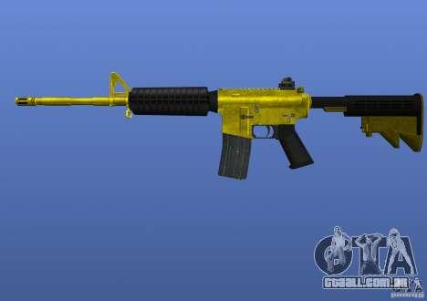 M4A1 para GTA 4