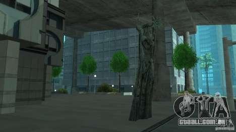 Estátua de Skyrim para GTA San Andreas terceira tela