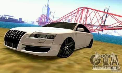 Audi A6 Blackstar para GTA San Andreas
