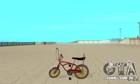 CUSTOM BIKES BMX para GTA San Andreas esquerda vista