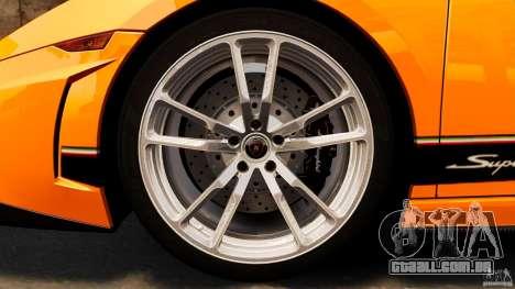 Lamborghini Gallardo LP570-4 Superleggera para GTA 4 vista superior
