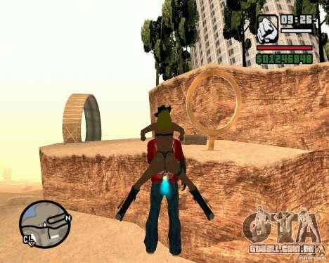 A torre inclinada de Pisa para GTA San Andreas por diante tela