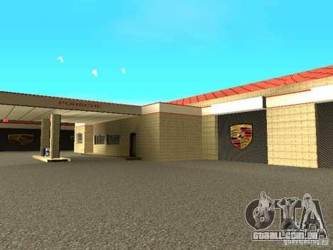 Porsche garagem para GTA San Andreas sexta tela