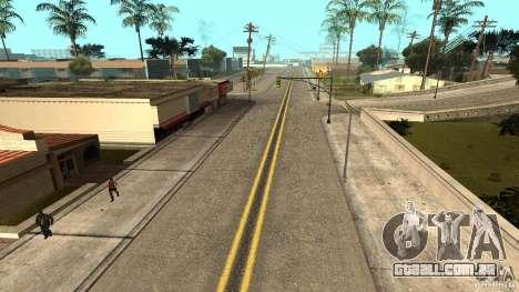 New HQ Roads para GTA San Andreas segunda tela