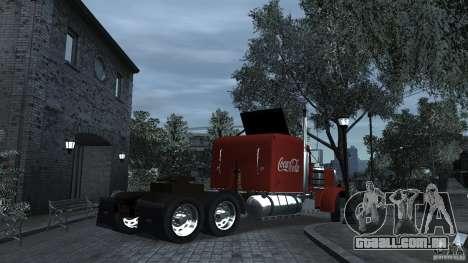 Coca-Cola para GTA 4 traseira esquerda vista
