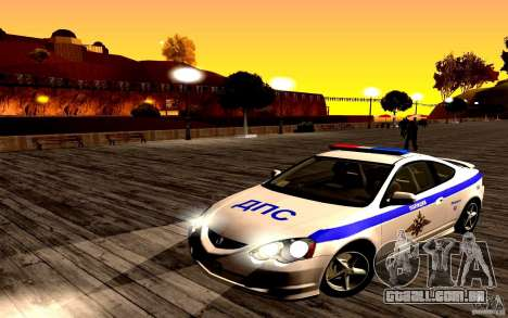 Acura RSX-S polícia para GTA San Andreas