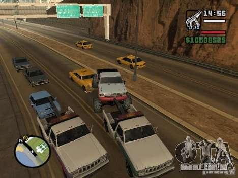 Carros com trailers para GTA San Andreas oitavo tela