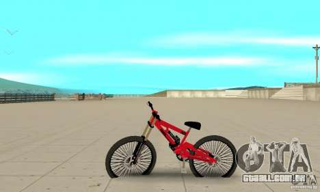 Novo BMX para GTA San Andreas esquerda vista