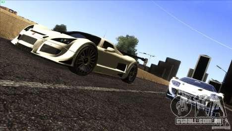 Gumpert Apollo para GTA San Andreas esquerda vista
