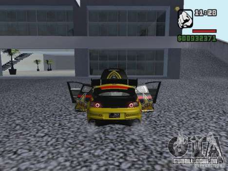 Mazda RX-8 Rockstar para GTA San Andreas traseira esquerda vista