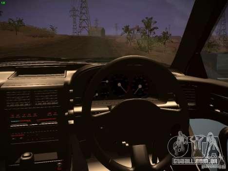 Mazda RX-7 FC3S para vista lateral GTA San Andreas