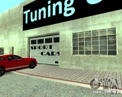 HD Motor Show para GTA San Andreas twelth tela