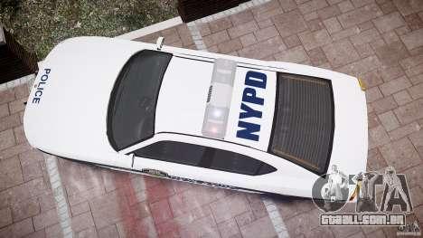 FIB Buffalo NYPD Police para GTA 4 vista superior