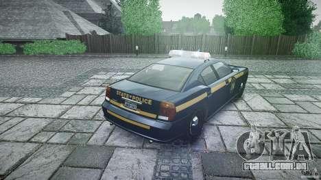 New York State Police Buffalo para GTA 4 vista lateral