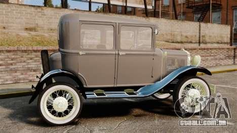 Ford Model T 1927 para GTA 4 esquerda vista